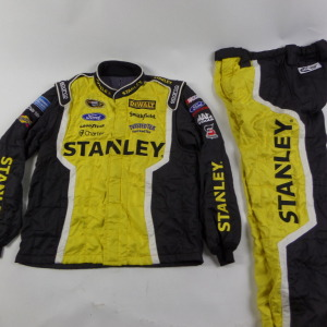 MARCOS AMBROSE STANLEY SPARCO CREW FIRE SUIT 2 PC U2.