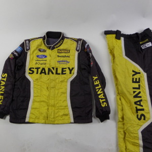 MARCOS AMBROSE STANLEY SPARCO CREW FIRE SUIT 2 PC U6