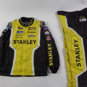 MARCOS AMBROSE STANLEY SPARCO CREW FIRE SUIT 2 PC U9.
